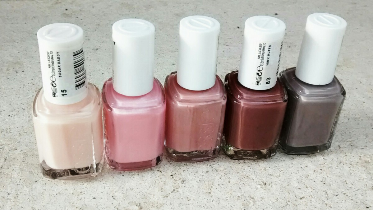 Essie Cosmetics – Favourite Neutrals – Caliope Couture