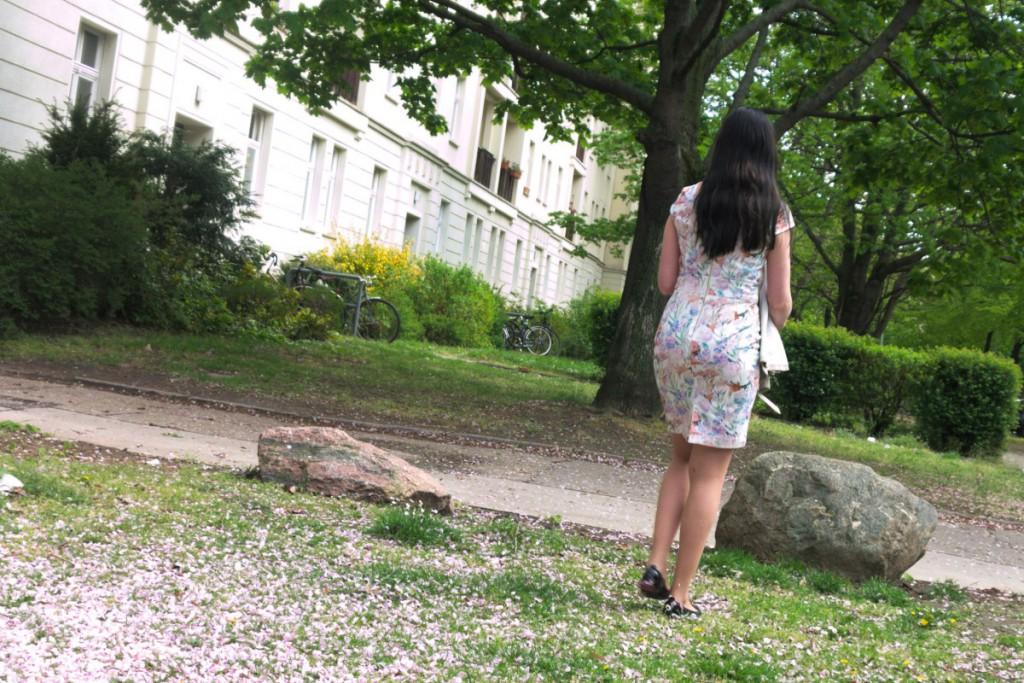 mint&berry floral dress