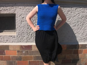 Cable Cotton Top | Aldeburgh Handknit Top