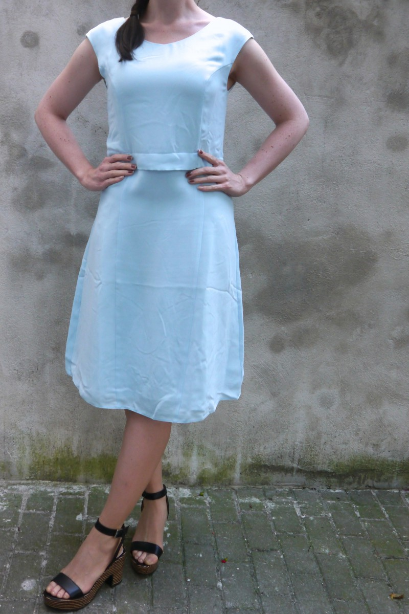 Baby Blue Dress | Kiomi