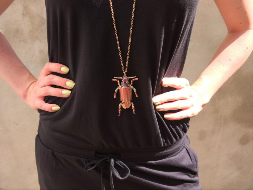 Beetle Pendant Necklace | H&M