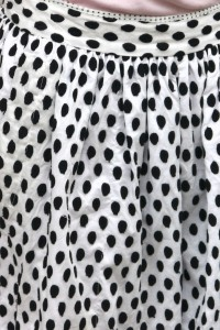 Marc by Marc Jacobs woven Polka Dot Skort