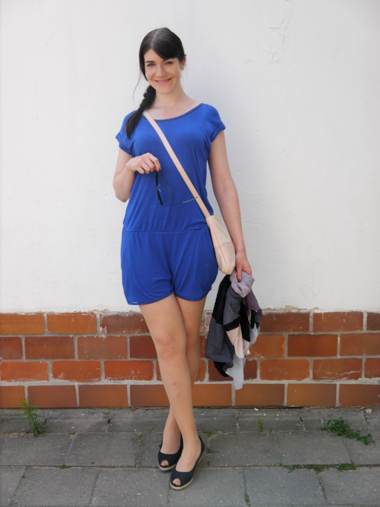 Royal Blue Romper | esprit