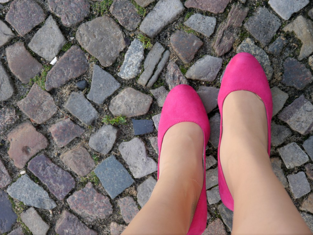 Pink Tamaris Pumps