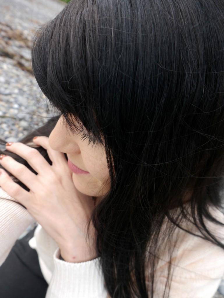 Pensive Brunette