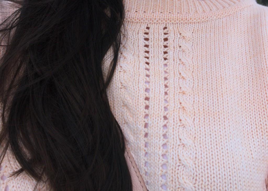 Sweater degradé detail