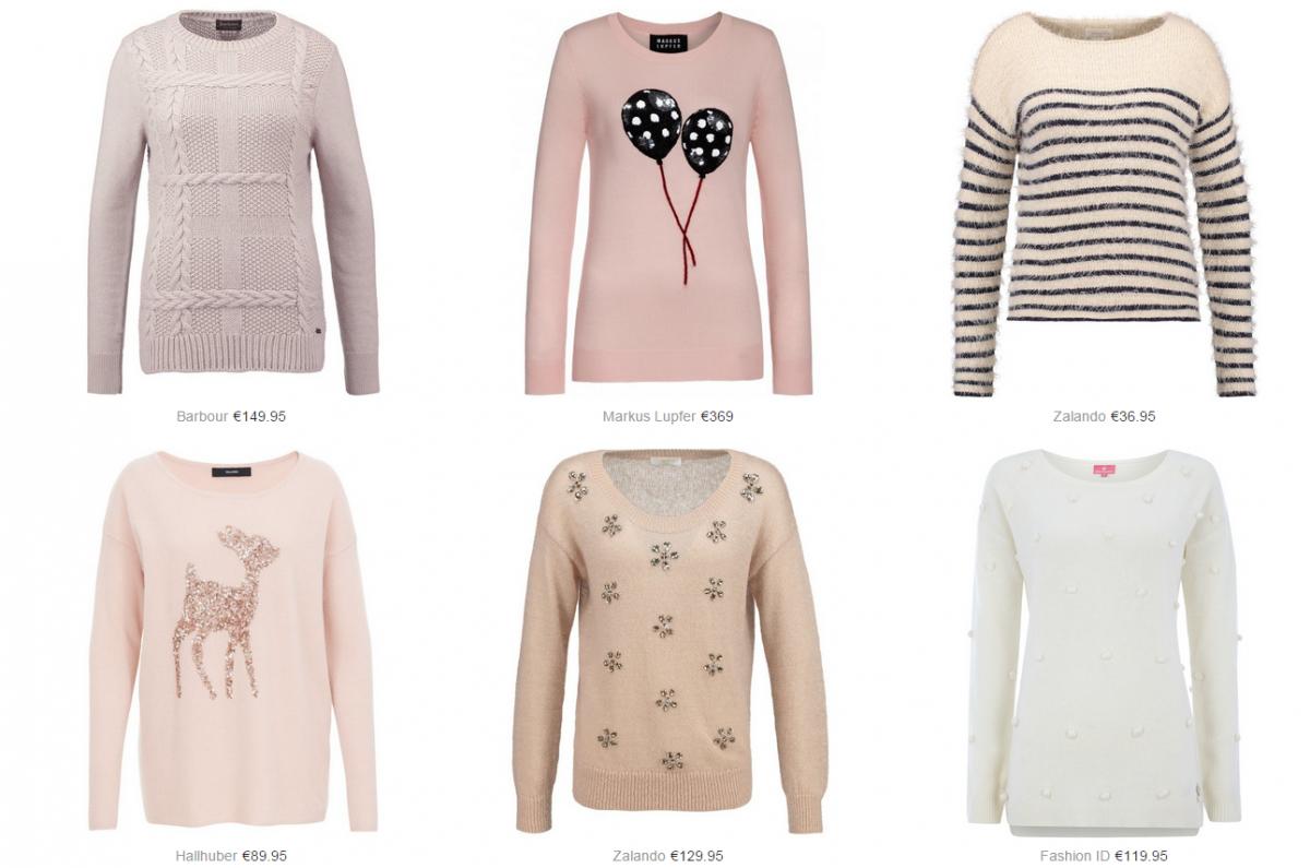 ultra feminine knits