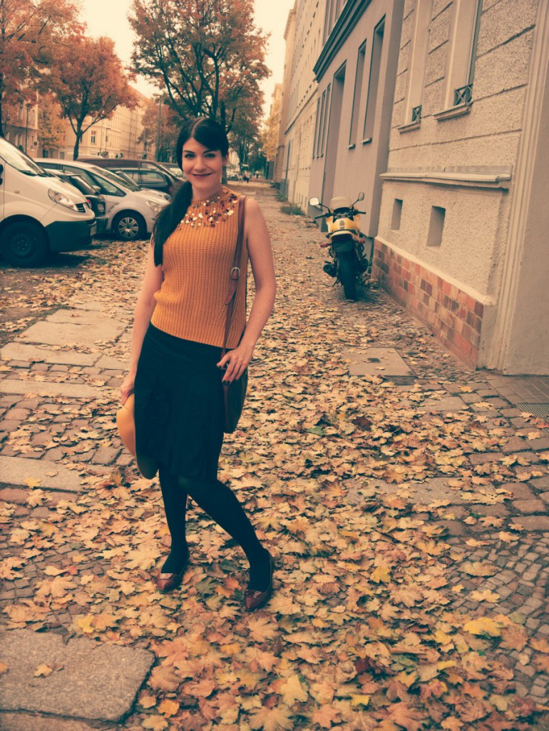 Fall Outfit Yellow