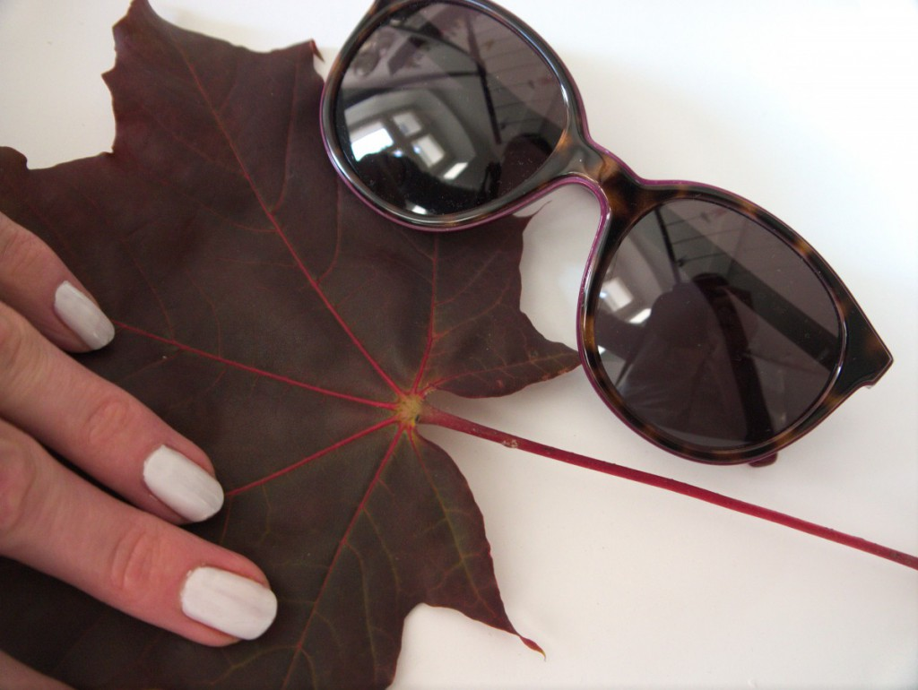 Lacoste Sunglasses in autumn