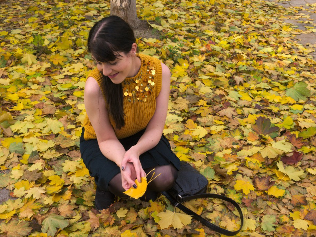 Yellow Fall Outfit