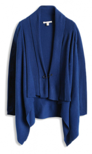 electric blue cardigan Esprit