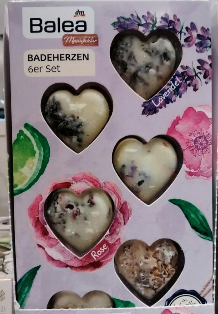 Diese Badeherzen mit Lavendel fand ich auch recht schön