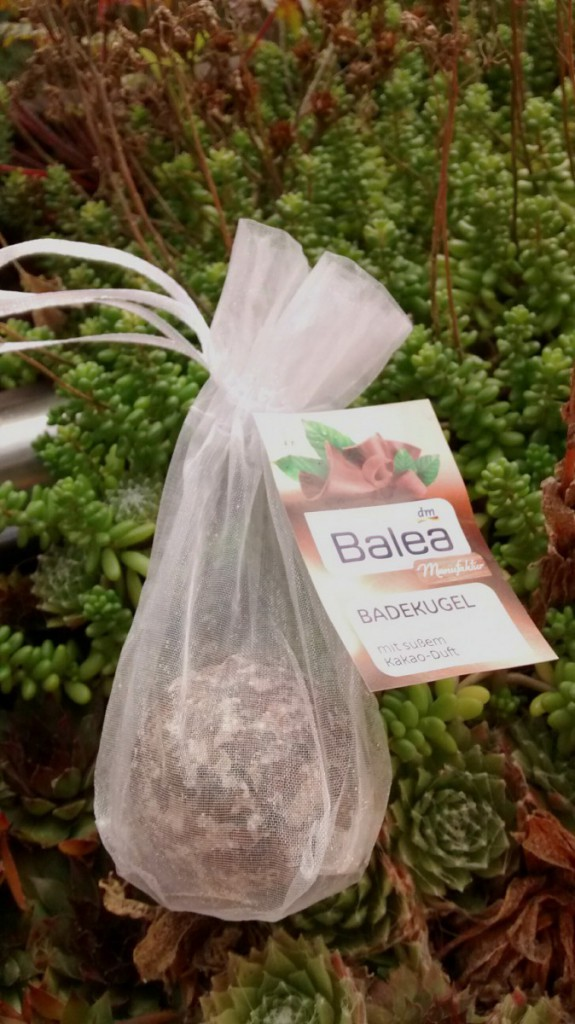 Balea Badekugel | bath ball cocoa