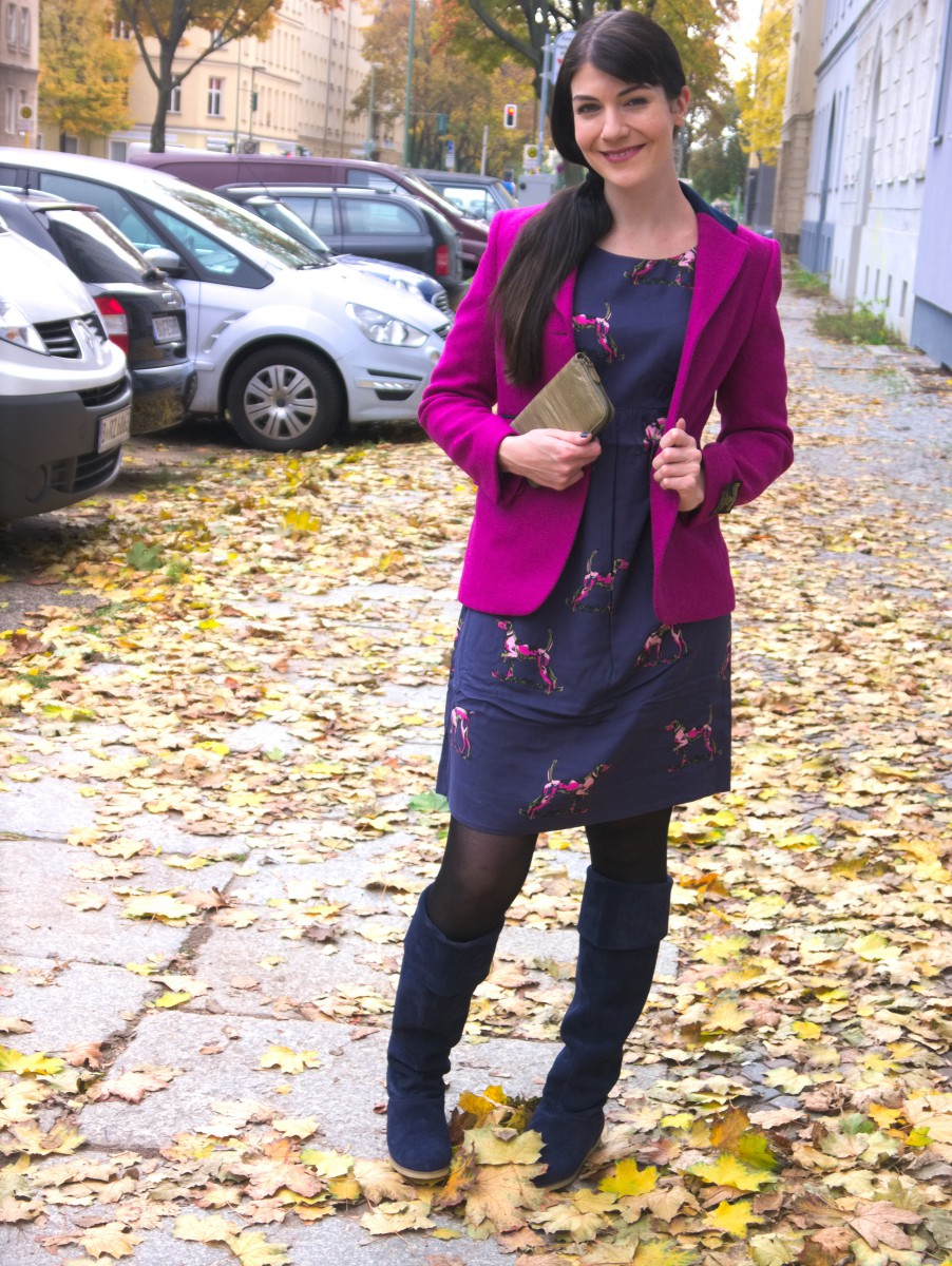 Pink Tweed – Caliope Couture