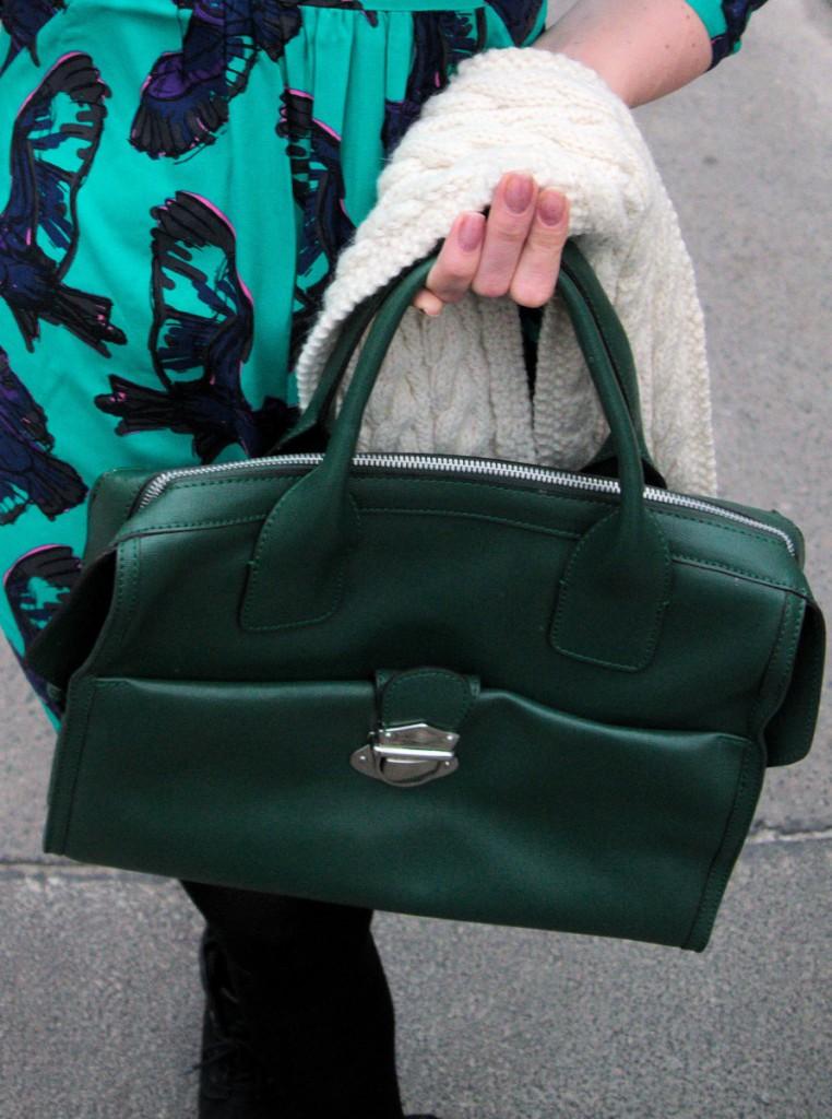 Green Jean Louis Scherrer Bag