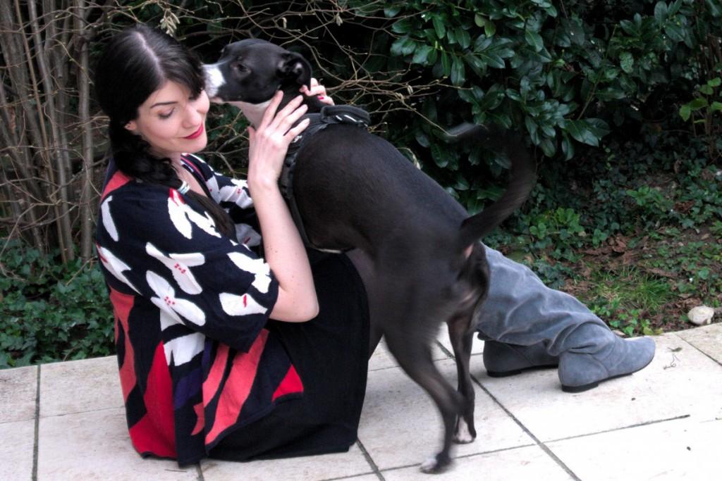 Basenji and Diane von Furstenberg