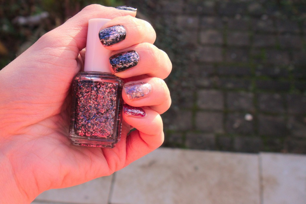 Essie glitter nails