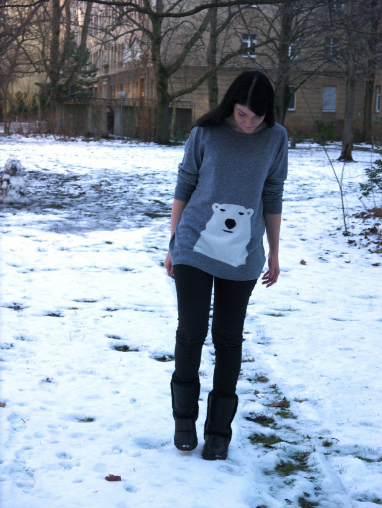 Boden Polar Bear Sweater | Caliope Couture