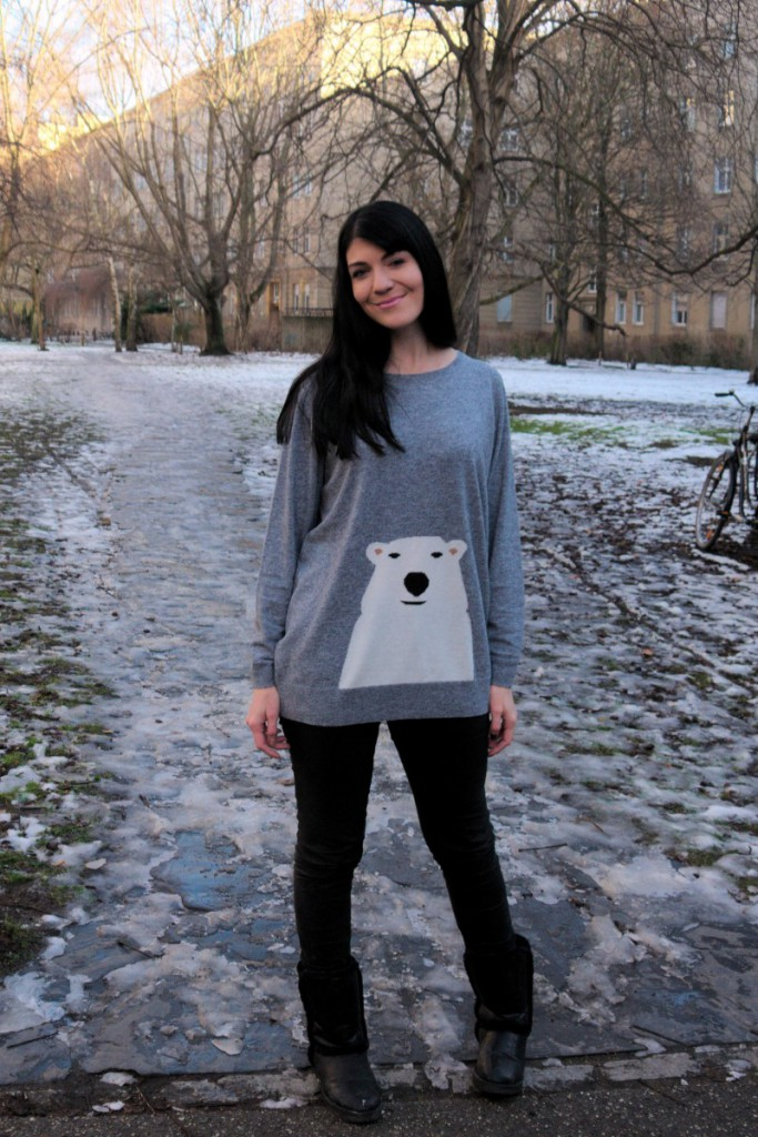 Boden Ice Bear Sweater | Caliope Couture
