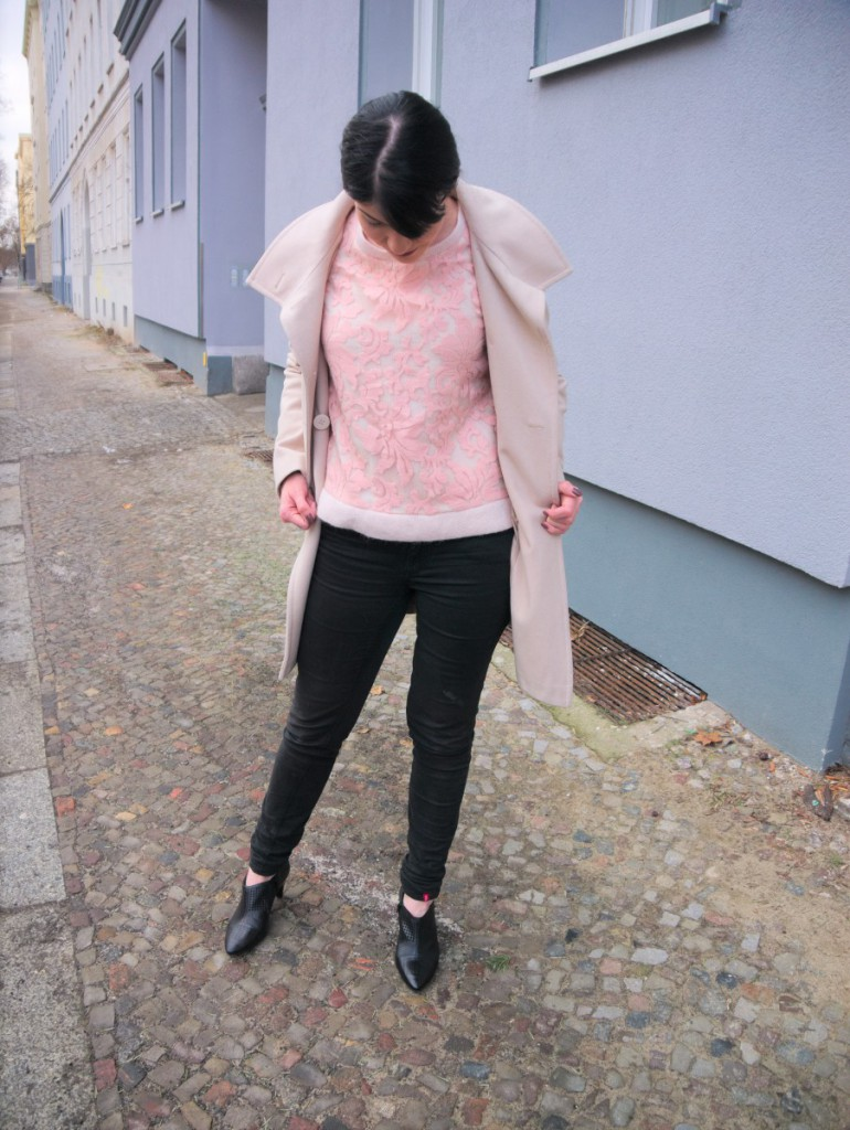 Minkpink Lace Sweater