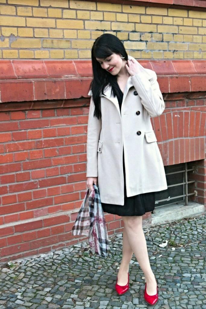 Classic White Wool Coat