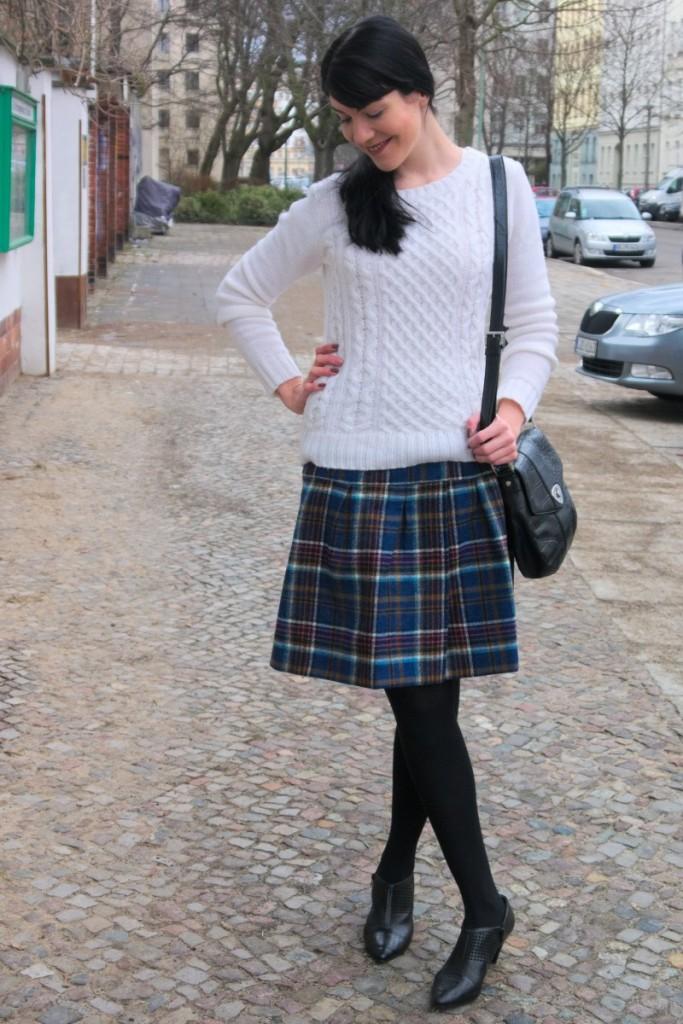 Boden British Tartan Skirt