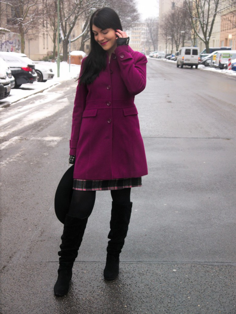 Pink Statement Coat