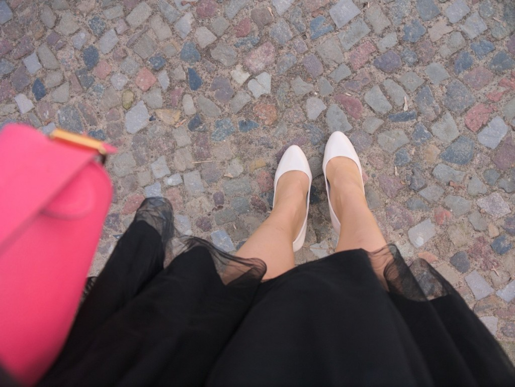 What I Wore tulle skirt