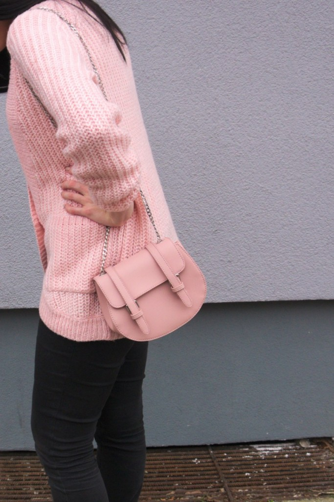 mint&berry cardigan in rose quartz pink