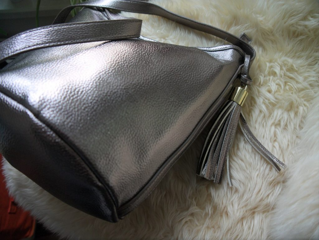 gun metal bag by even&odd