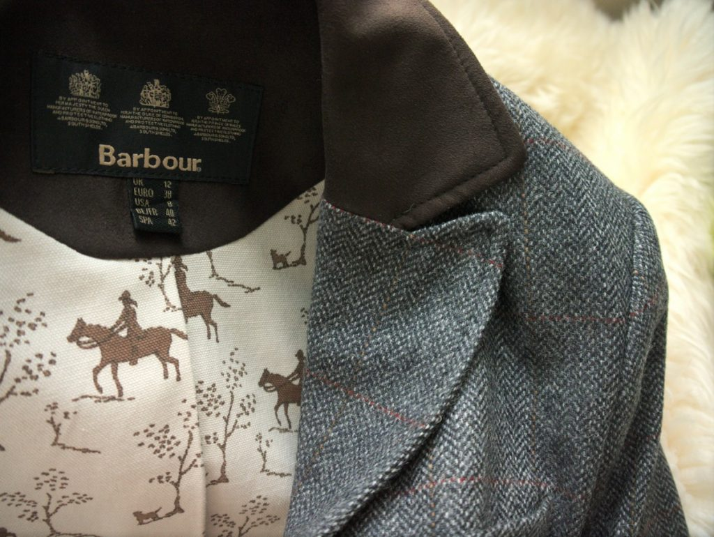 Barbour Nutwell tweed blazer