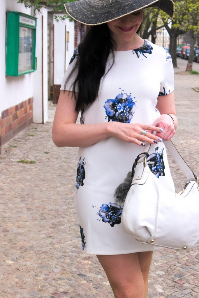 Vero Moda blue floral dress
