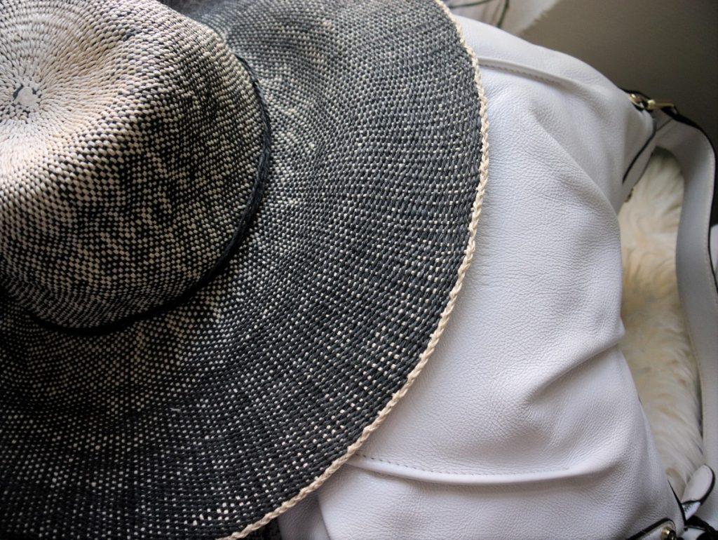 ombré straw hat