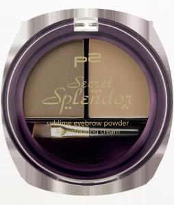 sublime eyebrow powder & contouring cream 020