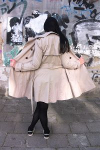 flashing in a trenchcoat