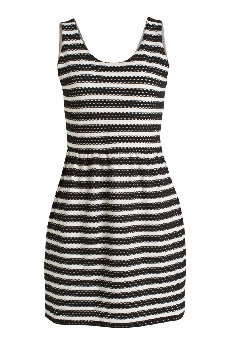 Kleid mit Ajour-Muster Esprit