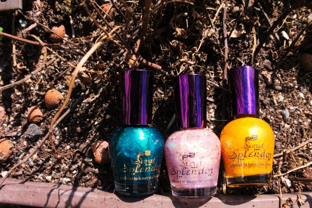 p2 secret splendor limited edition nailpolish