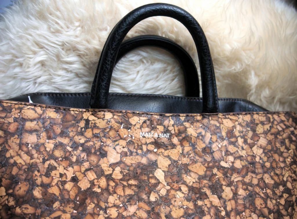 vegan cork bag Kintla by matt & nat