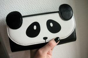 panda novelty purse