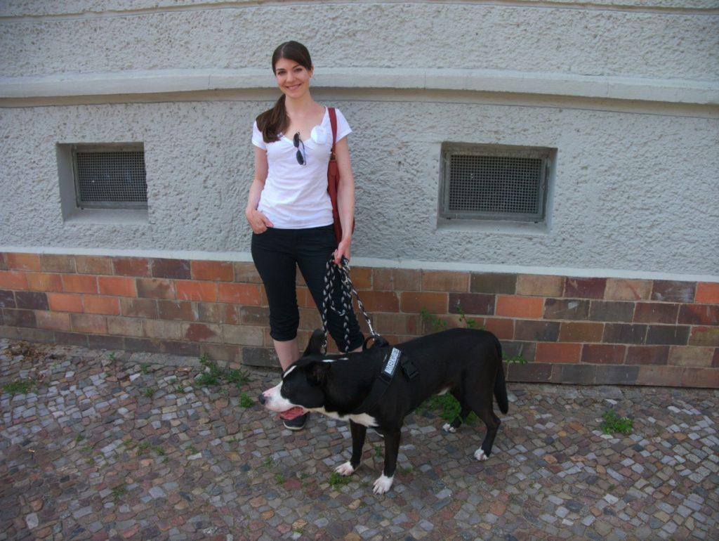 Doggy Partnerlook in Schwarzweiß