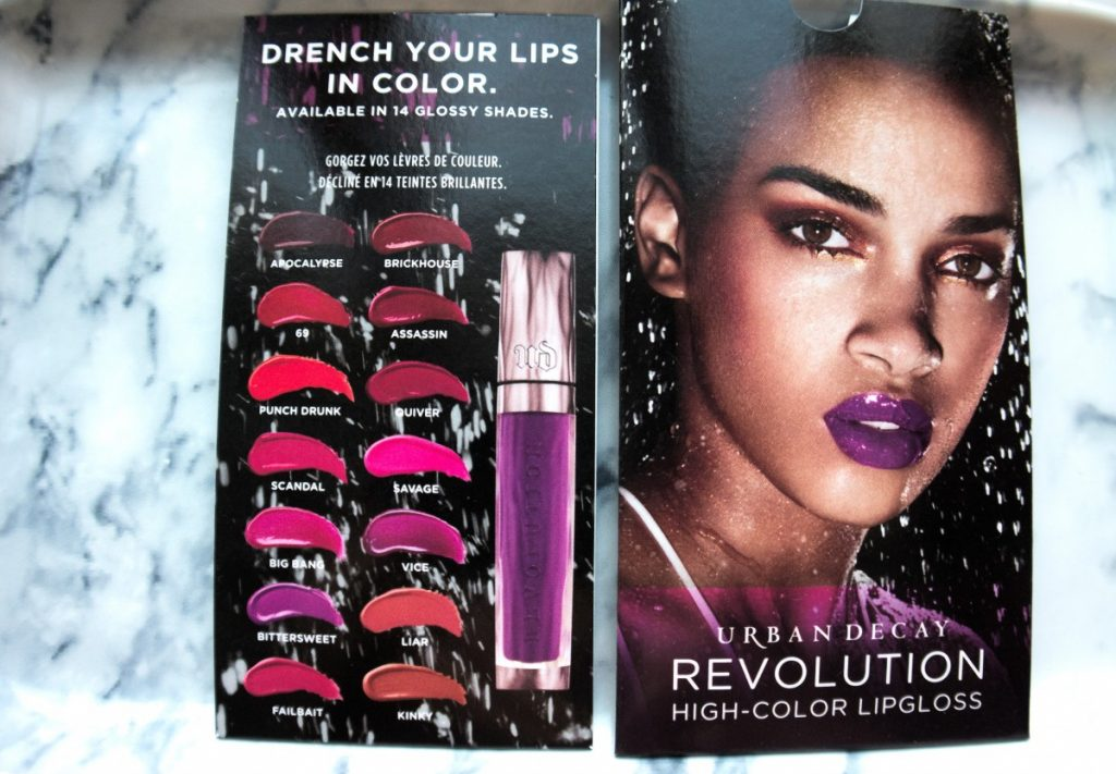 urban decay revolution high colour lipgloss