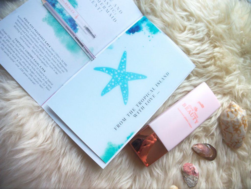 p2 Dive Into Beauty luminous gleam cream