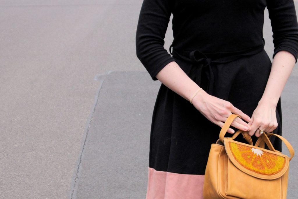 orange slice sarah's bag