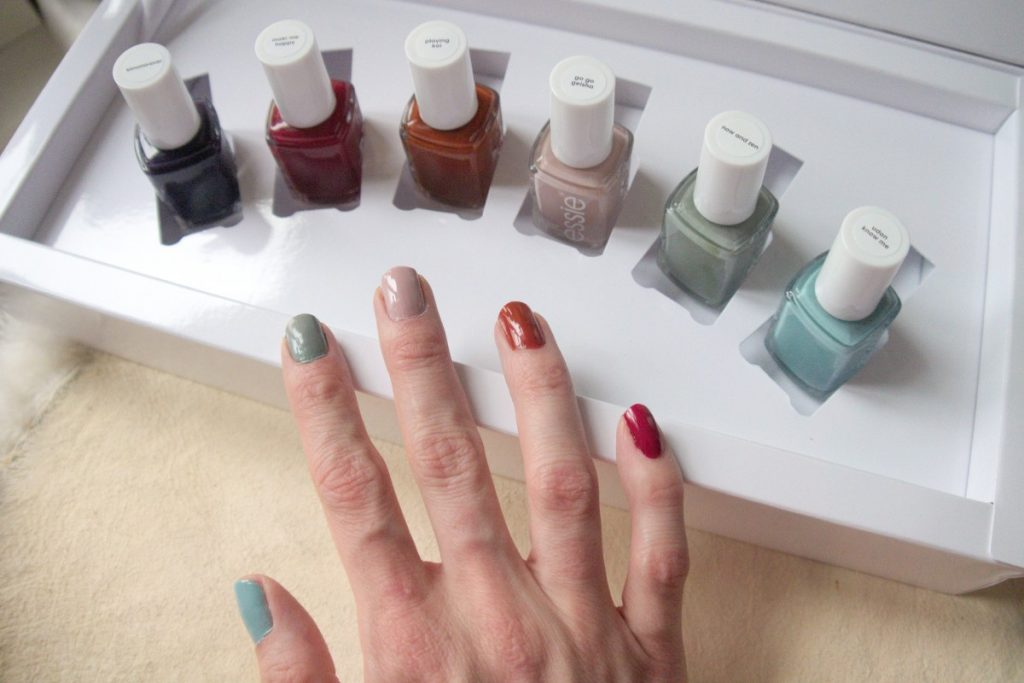 essie fall collection 2016 swatches