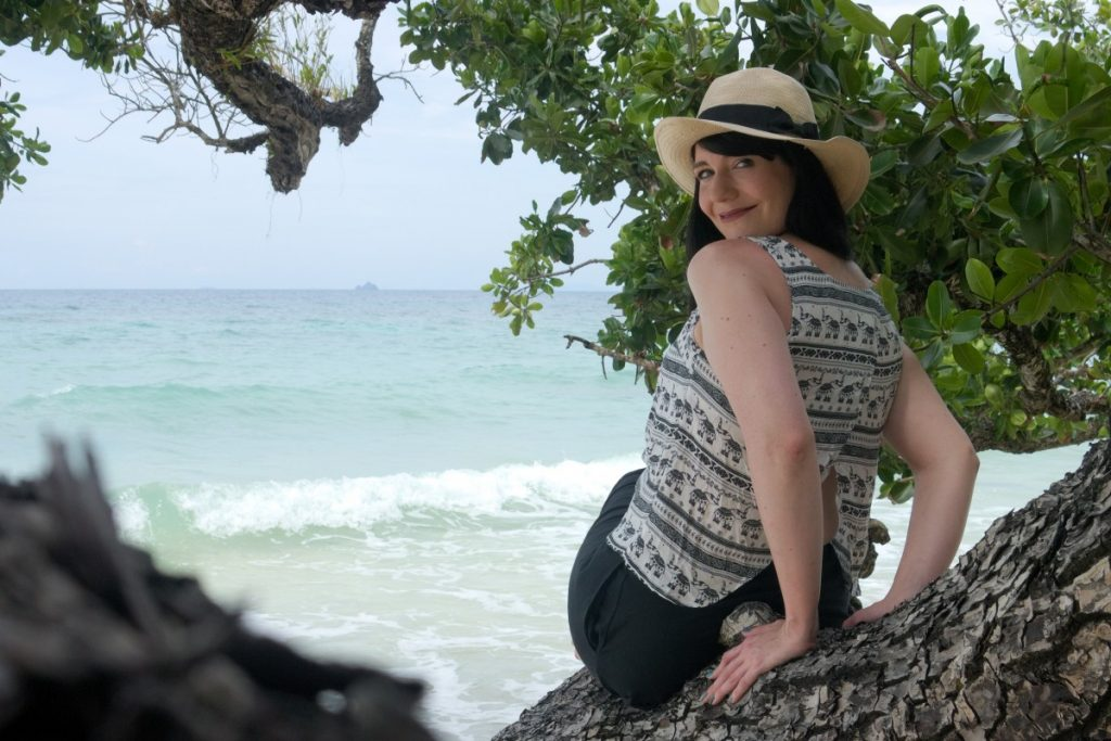 Sitting in a Tree by the South China Sea at Bagus Place Resort