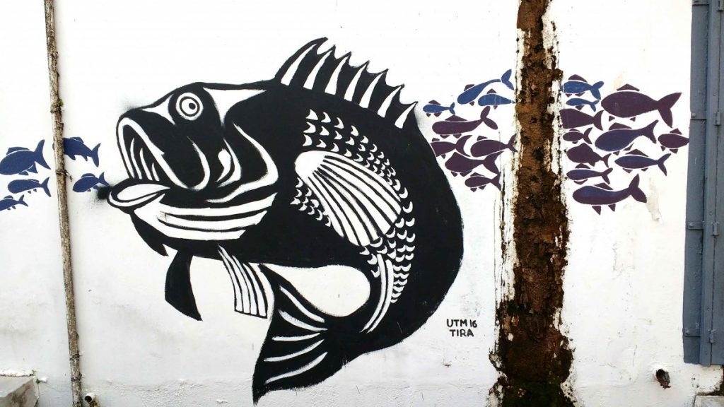 wall art in Mersing