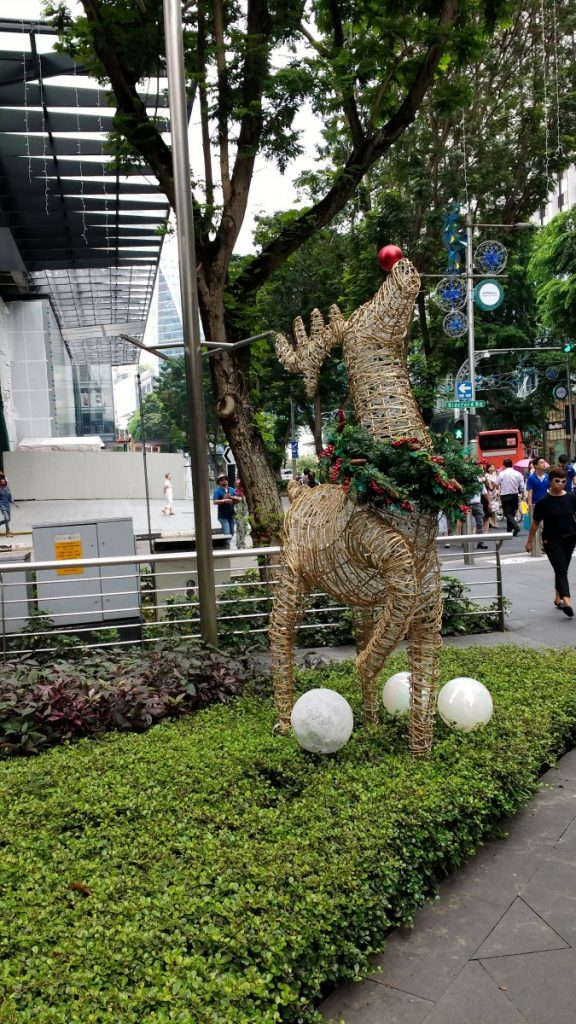 Singapore Christmas decorations Orchard Road
