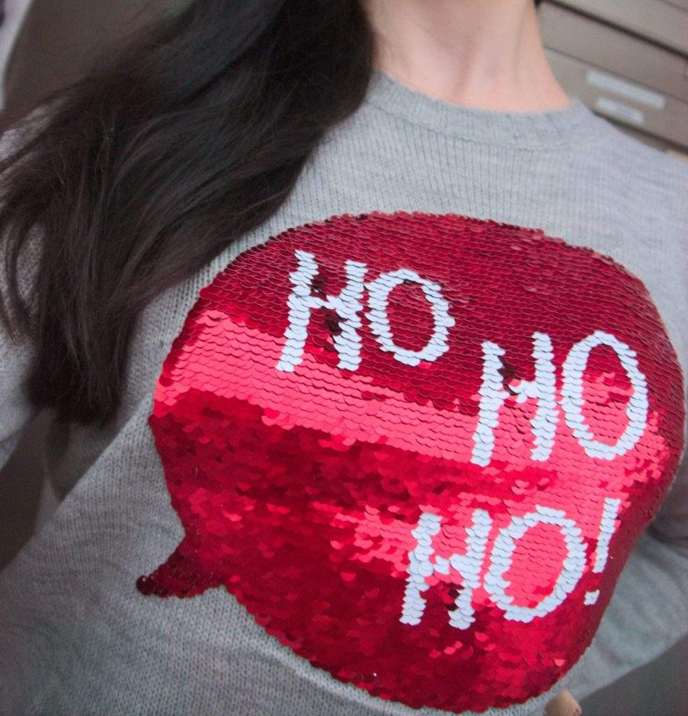 jolly christmas jumper