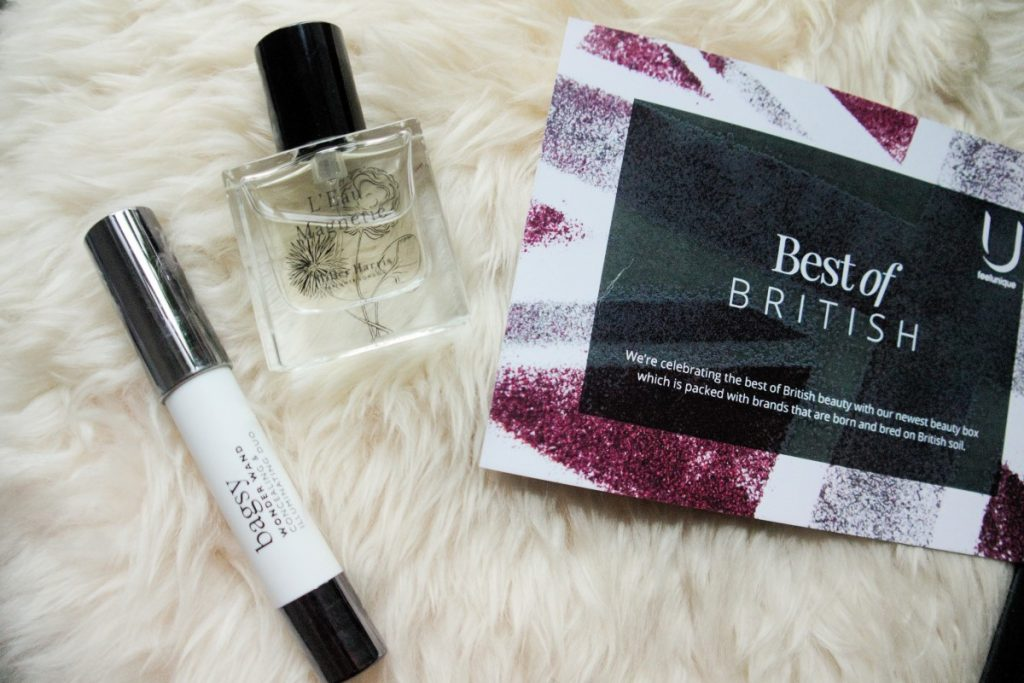 Fellunqiue Best of British beauty box review