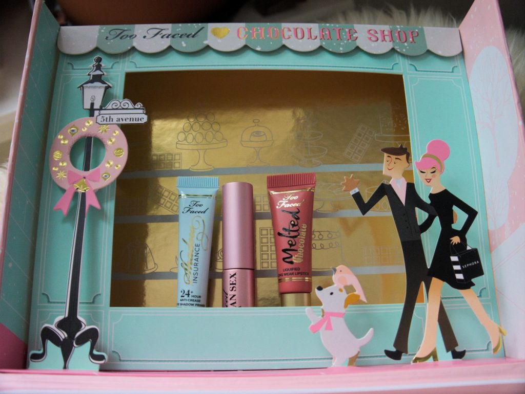 too faced the chocolate shop review